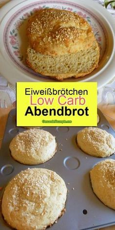 Eiweißbrötchen low carb Abendbrot Ingredients: For the dough: 3 m.-large egg (s) 250 g low-fat quark Egg Roll Recipes, Low Carb Recipes, Healthy Recipes, Law Carb, Homemade Egg Rolls, Dessert Oreo, New Recipes For Dinner, Cheap Meals, Keto Dinner