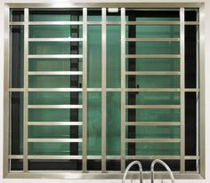 Home Window Grill Design, Iron Window Grill, Grill Gate Design, Window Grill Design Modern, House Main Gates Design, Balcony Grill Design, Window Design, Steel Grill Design, Steel Railing Design