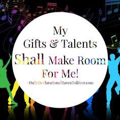 #DailyDeclarations My Gifts & Talents Shall Make Room For Me!   ✡A man's gift makes room for him And brings him before great men-Proverbs 18:16 #Blessed #Scriptures #SpeakLife #WordPower #Affirmation #Bible #BibleVerses #Tanach #inspiration