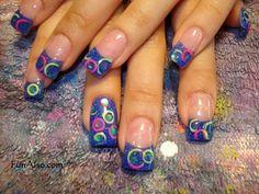 fingernail art | Nail art