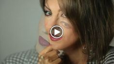 PepperChocolat84 oggi ti mostra come fare il make up 'sangria' con colori adatti alla stagione invernale