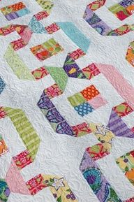 Name: 'Quilting : Garden Paths Patchwork Quilting, Jellyroll Quilts, Scrappy Quilts, Baby Quilts, Patchwork Ideas, Modern Quilting, Girls Quilts, Quilting Projects, Quilting Designs