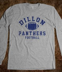 """Tim Riggins #33 shirt (Click on """"More Styles"""", Long Sleeve Tee, $28.99, Grey, XL)"""