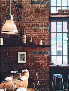 Industrial inspired interior design NYC