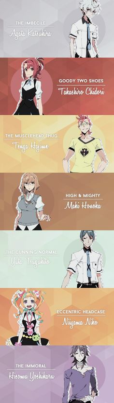 Kiznaiver + The Seven Deadly Sins