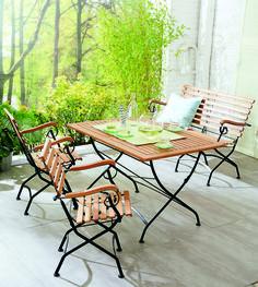 genau richtig f r eine auszeit im freien das loungebett. Black Bedroom Furniture Sets. Home Design Ideas