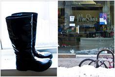 Moo Shoes NYC- 78 Orchard St. Vegan shoe mecca