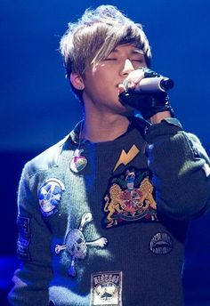 Kang Dae-sung (강대성), who is better known mononymously as Daesung (대성), a member of the South-Korean boy group Big Bang (빅뱅).