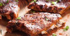 Travers de porc grillées aux épices