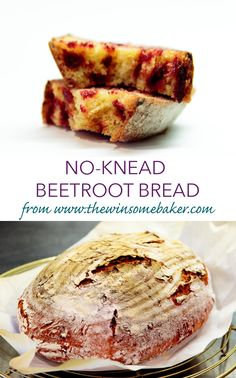 No-Knead Beetroot Bread | The Winsome Baker