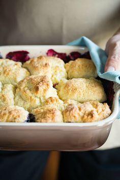 ... | Baked blueberry oatmeal, Blueberry cobbler and Chicken enchiladas