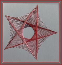 String art - звезда