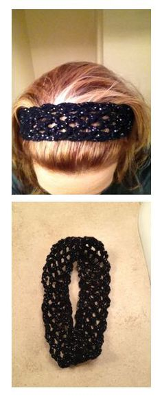 Crochet Patterns Headband The Genius Headband. Easy crocheted headband - I made it in about 10 minutes. Knit Or Crochet, Learn To Crochet, Crochet Crafts, Crochet Baby, Crochet Projects, Rainbow Crochet, Crocheted Hats, Baby Knitting Patterns, Crochet Patterns