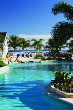 Relaxing by the pool | St. Kitts Marriott Resort