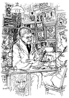 ART & ARTISTS: A tribute to Ronald Searle