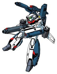 VF-1S Strike armour Valkyrie in Battroid mode
