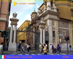 Confini amministrativi - Riigipiirid - Political borders - 国境 - 边界: 2004 IT-VA Itaalia-Vatikan Italia-Vaticano