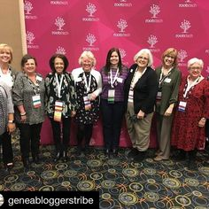 So glad I know this team. They do a fab job promoting and sharing genealogy bloggers storytelling. #Rootstech #Repost @geneabloggerstribe with @get_repost  Members of the GeneaBloggersTRIBE Leadership Team with a few friends at the RootsTech Media Dinner. Who took the photo? Dan J. Debenham of Relative Race!  @roostech #rootstech #geneabloggerstribe #geneabloggers #genealogy