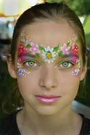 Resultado de imagem para face painting flowers