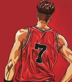 """It has decided that popular anime """"SLAM DUNK"""" by Takehiko Inoue Blu-ray DVD will release in odd months from July because of its anniversary. Slam Dunk Manga, Basketball Anime, Basketball Pictures, Basketball Cookies, Basketball Drills, Basketball Players, Manga Anime, Anime Art, Inoue Takehiko"""