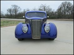 1937 Ford Coupe Street Rod Fuel Injection, Custom Interior