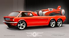 Mustang hauler and streamliner