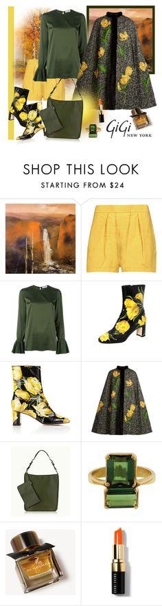 """Fall Style with Gigi New York"" by carola-corana ❤ liked on Polyvore featuring NOVICA, GiGi New York, Marni, P.A.R.O.S.H., Dolce&Gabbana, Burberry, Bobbi Brown Cosmetics and Giginewyorkhttp"