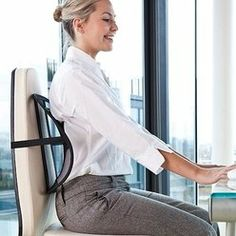 JML Sit Right Chair Back Support System: Amazon.co.uk: Office Products