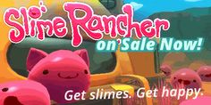 Slime Rancher is on sale for the first time ever! http://store.steampowered.com/app/433340 If you've already supported Monomi Park (thanks by the way, you're awesome), you can always buy the game for a friend! Every bit helps us continue to make...
