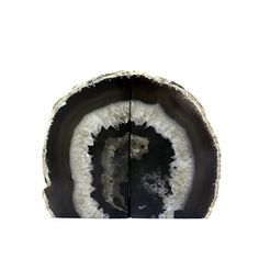 Crystal Allies Gallery Polished Agate Geode Halves Bookends, Set of 2 - Canopy is Amazon, curated. Use Canopy to discover the most useful, beautiful, and well-designed products on Amazon.