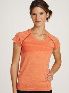 Either lifting weights at the gym or out on a run, the Flyte Short Sleeve is one of our faves!