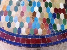 Værksted i Fez. Bordplade
