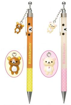 Rilakkuma 0.5mm Charm Mechanical Pencils
