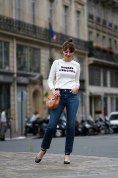 the brunette sacred monster ag jeans alexa chung