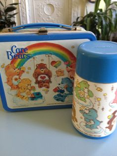 My lunch box and thermos circa 1984!!
