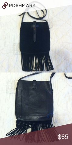 NEW Monterey Fringe Crossbody Bag Brand new, without tags. Perfect condition. Will ship tonight if purchased before 1 CST. Madewell Bags Crossbody Bags