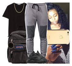 """""""Back2school #27"""" by msixo ❤ liked on Polyvore featuring T By Alexander Wang, JanSport, Reeds Jewelers, Armitage Avenue and NIKE"""