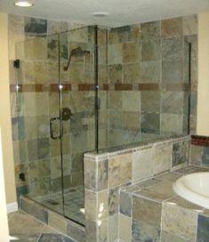 Beautiful bathroom frameless shower glass enclosure 44 Frameless Sliding Shower Doors, Frameless Shower Enclosures, Framed Shower Door, Glass Shower Doors, Glass Door, Custom Shower Doors, Shower Remodel, Bath Remodel, Beautiful Bathrooms