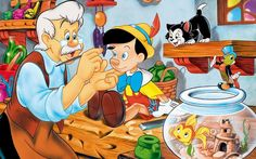 dibujos animados de Disney películas pinocchio empresa fondos de ...