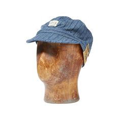 Ralph Lauren Rrl Cotton Twill Engineer's Cap (£92) ❤ liked on Polyvore featuring men's fashion, men's accessories, men's hats, ralph lauren mens hats and mens caps and hats