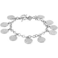857f87b039 Karen Kane Sandy Beach Large Charm Bracelet ($52) ❤ liked on Polyvore