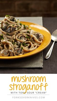 Oh. My. Word.  Can't wait to try this one.   Chef Del's Mushroom Stroganoff
