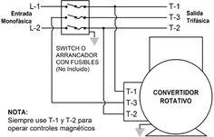 necesito diagrama para convertir AC 220 V en AC 3F 220 V - Electricidad Industrial - YoReparo