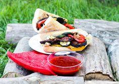 Grillowana karkówka w sosie miodowo-musztardowym Tacos, Mexican, Ethnic Recipes, Food, Essen, Meals, Yemek, Mexicans, Eten