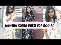 Myntra Kurta Dress for Summer Under Rs 700 - Myntra summer trends shopping tips in today's video. I am sharing the myntra summer trends 2019 where I show 5 m. Affordable Clothes, Cheap Clothes, Affordable Fashion, Dress For Summer, Spring Summer, Summer Dresses, Shopping Tips, Online Shopping, College Wear