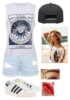 """""""clothing for FK"""" by kijannakap on Polyvore featuring Topshop, adidas Originals and Alex and Chloe"""