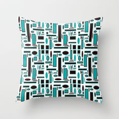 Smooth_Jazz Throw Pillow by SKCreations, LLC - $20.00