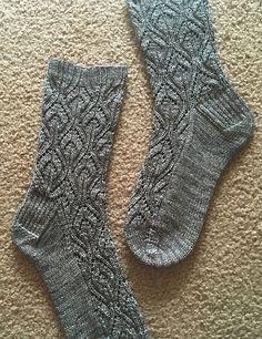Ravelry: Peperomia socks pattern by verybusymonkey