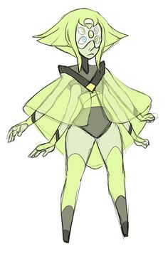 Pearl and Peridot fusion? :/
