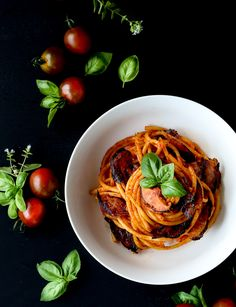 Mushroom and Tomato